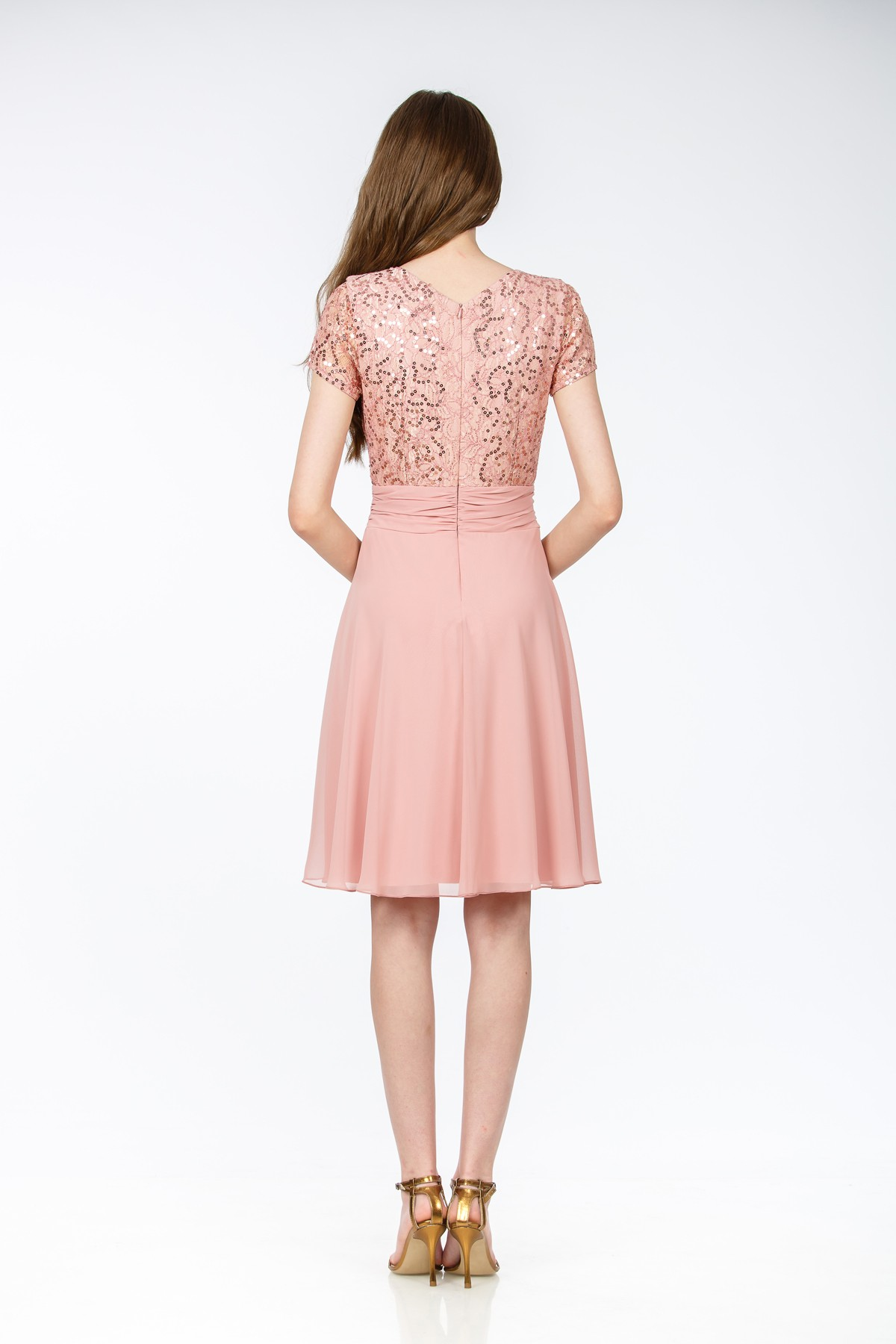 Rochie voal SLE376