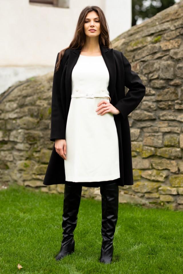 Pardesiu stofa cu lana Isabella