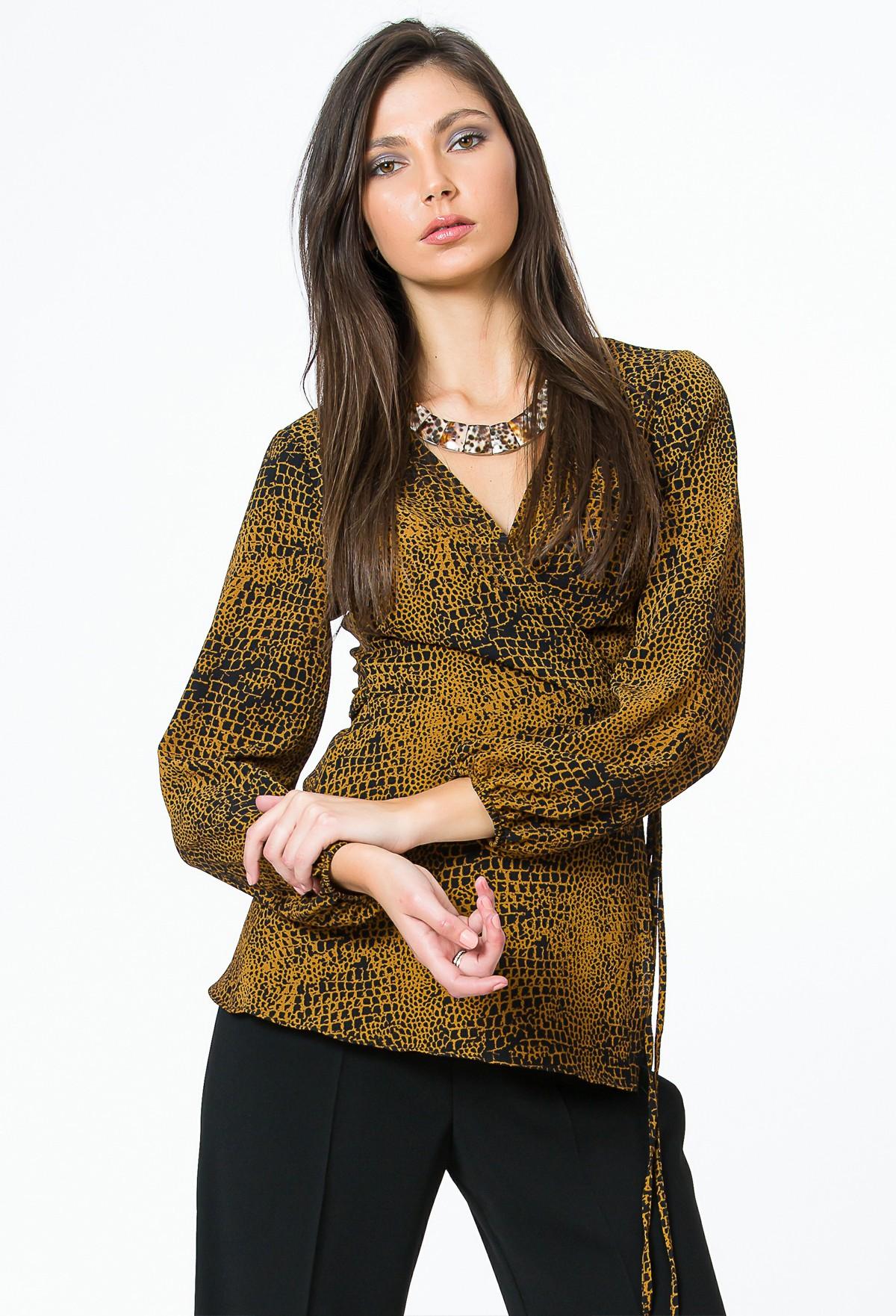 Bluza imprimata Aisha