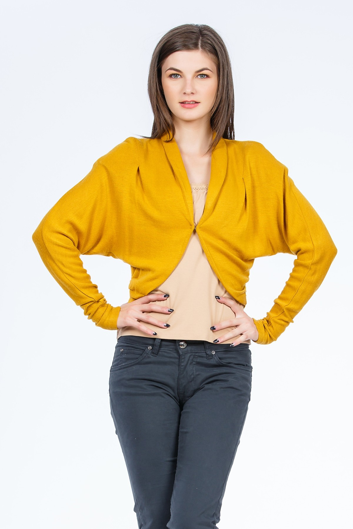 Bolero tricotat OL0299