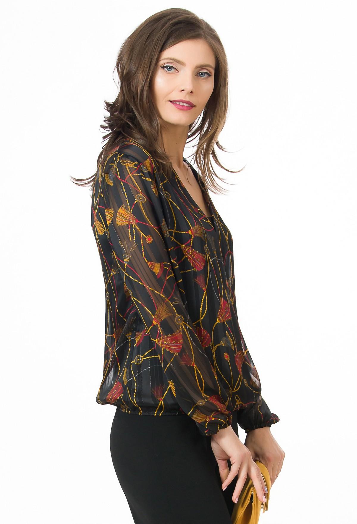 Bluza imprimata Dominique