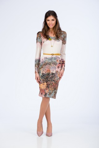 Rochie Colored Forest
