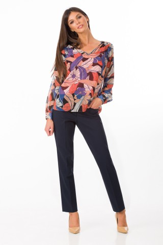 Bluza imprimata Fleur