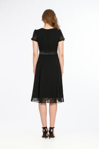 Rochie voal SLE365