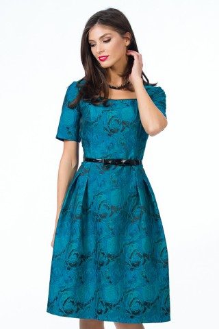 Rochie Audrey H  Turqoize